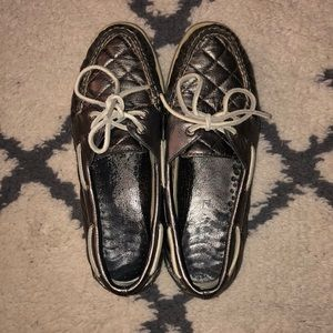 Sperry Shoes - Sperry Topsider in Pewter